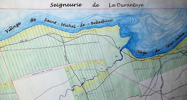 Choisies pour peupler - Dix Filles du Roy sur la seigneurie de La Durantaye